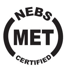 NEBS Certified by MET Labs