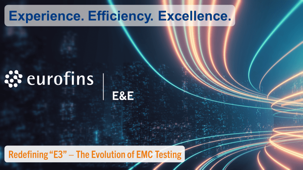 We are redefining what E3 means. Experience. Efficiency. Excellence